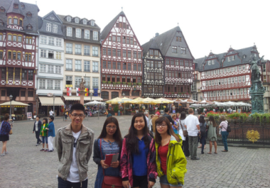 Du học sinh tại Đức có nhiều cơ hội phát triển nghề nghiệp.