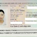 Chúc mừng ĐỔNG QUỐC THỐNG đạt visa