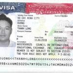 Chúc mừng Dương Thành Long đã đạt Visa