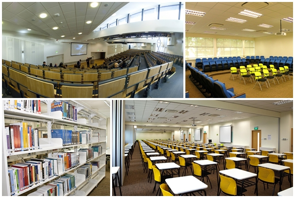 Hệ thống phòng học, thư viện hiện đại tạo không gian học tập tốt nhất cho học sinh