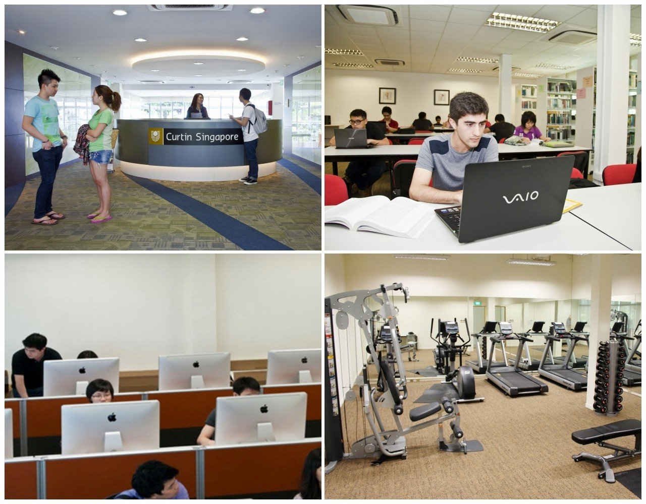 Tất cả trang thiết bị hiện đại, tiện nghi hỗ trợ tiêu chí lấy người học làm trung tâm