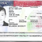 Chúc mừng Nguyễn Xuân An Chung đạt Visa thành công
