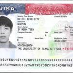 Chúc mừng Nguyễn Sỹ Minh Tiến đã đạt Visa
