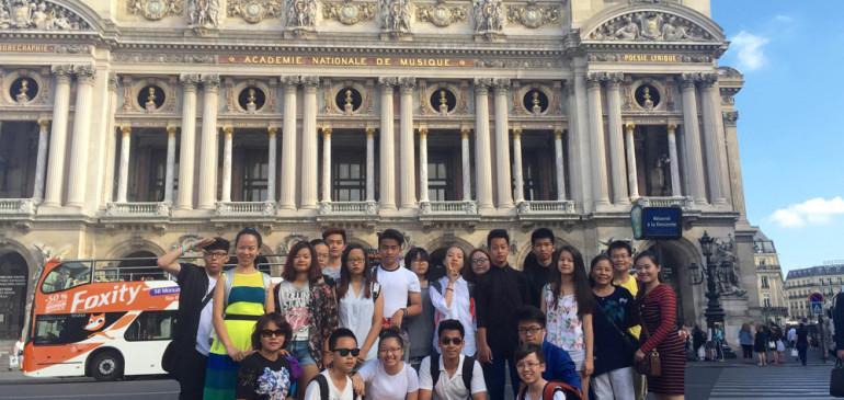 NHẬT KÝ ĐOÀN SMC ANH – PHÁP, NGÀY 23/7/2015