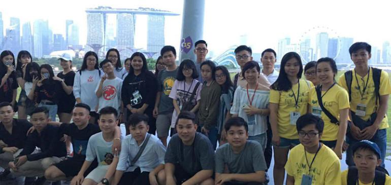 Nhật ký đoàn Xuân Singapore 2017 ngày 21,22,23/01/2017