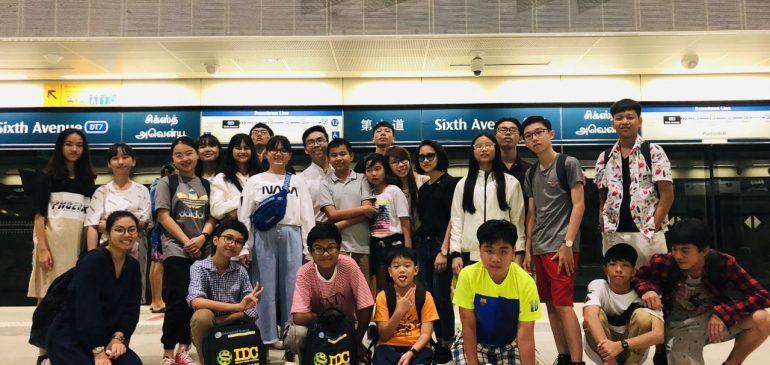 NHẬT KÝ ĐOÀN SINGAPORE HCM NGÀY 01/06/2019