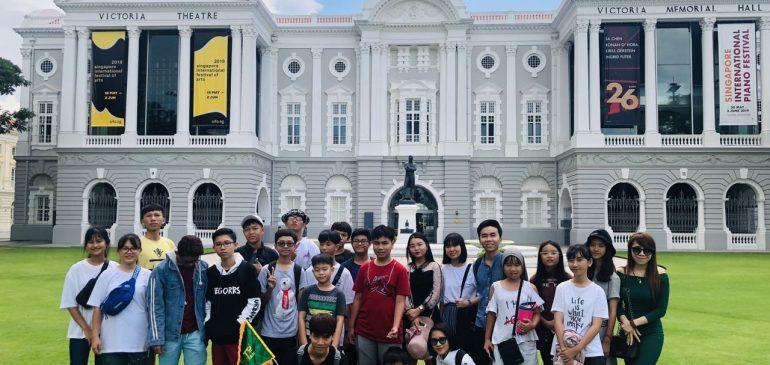 NHẬT KÝ ĐOÀN SINGAPORE HCM NGÀY 28/05/2019