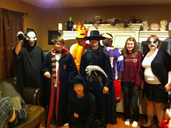 Lễ Halloween với bạn bè Quốc tế