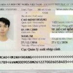 CHÚC MỪNG CAO MINH HOÀNG ĐÃ ĐẠT VISA
