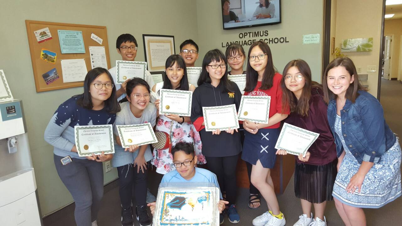 English Certificate Award party (2)
