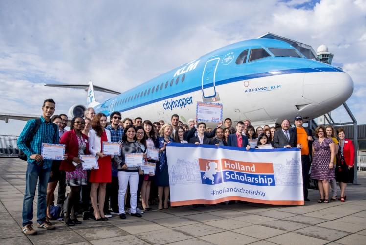 Du học sinh nhận các suất học bổng của Hà Lan (Holland Scholarhip)