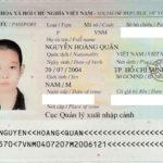 Chúc mừng NGUYỄN HOÀNG QUÂN đạt visa