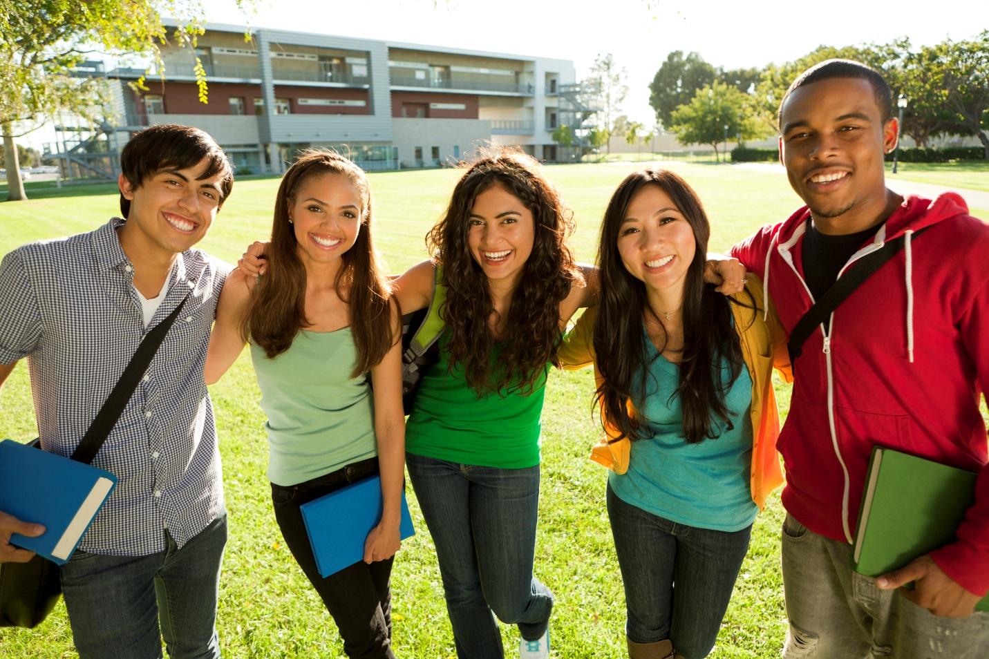 Phần lớn học sinh Trung học Mỹ đều chuyển sang trường Cao đẳng cộng đồng