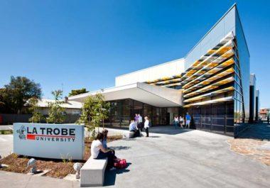 Một góc khuôn viên trường đại học La Trobe – cơ sở Sydney, Úc